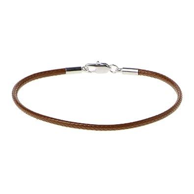 design de qualité 5276c 97634 A0127 Bracelet femme Bracelet corde rouge Corde rouge de Kabala Cuir tressé  Boucle de homard Bracelet porte-bonheur Bijoux de bricolage
