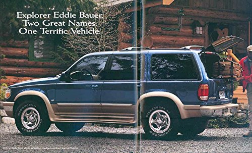 1998 Ford Explorer SUV Truck Brochure