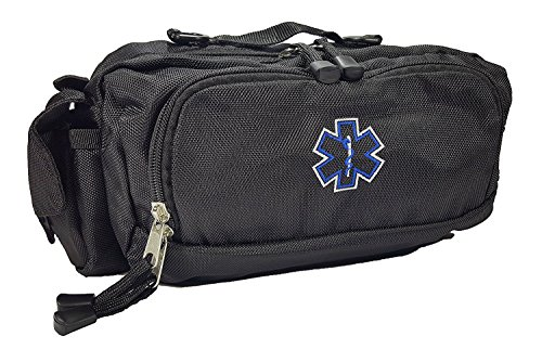 - LINE2design Deluxe First Aid, First Responder Fanny Pack Large EMS, EMT, Paramedic Fanny Pack, With Multiple Internal Pockets Bag - Black