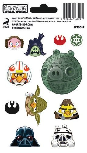 Angry Birds Star Wars tiefighter Shimmer sticker pack