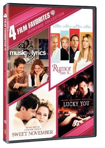 4 Film Favorites: Romances (Lucky You, Music and Lyrics, Rumor Has It, Sweet November)