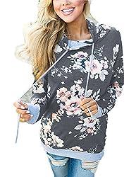 Minipeach Women S Pullover Long Sleeve Hoodies Coat Loose Casual Sweatshirts With Pocket