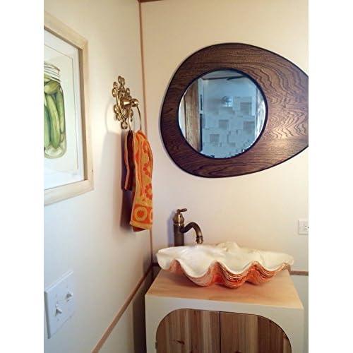 Clam Shell Beach Bathroom Vessel Sink delicate