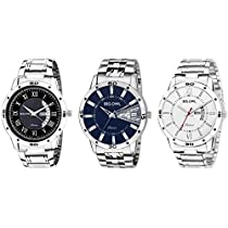 Bigowl Analogue Multi Color Dial Day & Date Wrist Watches Fo