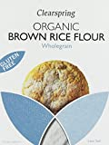 Clearspring Organic Gluten Free Brown Rice Flour 375 g (Pack of 4)