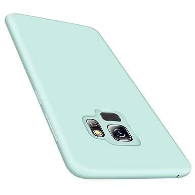 watch ffac8 8a1cd TORRAS Samsung Galaxy S9 Case, [Love Series] Liquid Silicone Gel Galaxy S9  Slim Thin Case with Soft Microfibre Lining Cushion Samsung Galaxy S9 Cover  ...