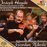 Joseph Haydn: Sinfonia Concertante, Symphony No. 100 ('Military'), L'Isola Diabitata Overture [SACD]