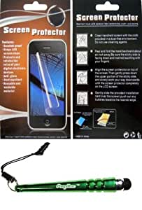 FoxyCase(TM) FREE stylus AND For Motorola Triumph WX435 Anti Glare Screen Protector fabulous LCD Cover cas couverture