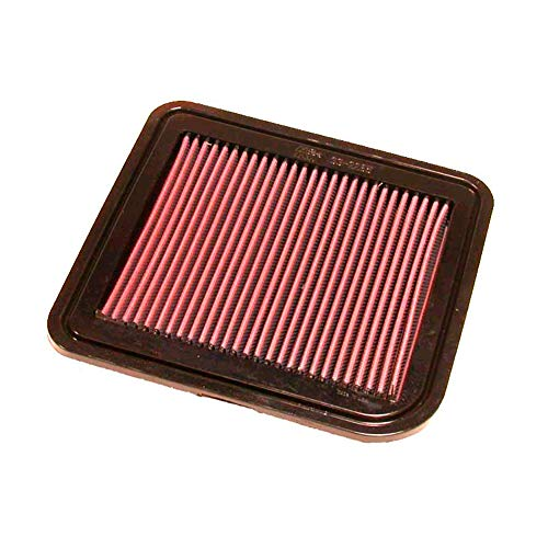 K&N engine air filter, washable and reusable:  2004-2019 Nissan/Infiniti V6/V8 Truck, SUV, Van (Frontier, Titan, Pathfinder, Xterra, Armada, Equator, NV1500, NV2500, NV3500, QX56) 33-2286