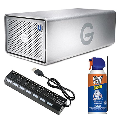 G-RAID Removable Thunderbolt 3 12TB External Drive Bundle