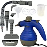 Xtech Electric Easy Handheld Steam Cleaner with 6 Different Attachments and 3 Additional Accessories (Kitchen)