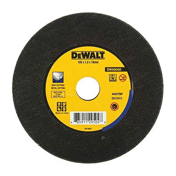 DEWALT DWA8060 100x1.2 mm Extra Thin Metal Cut Off Wheel for MS & Inox