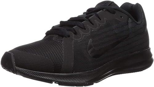 Nike Downshifter 8 (GS), Chaussures de Running garçon, Noir ...