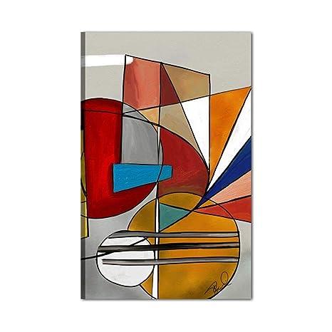f6846a9aa066 I Colori del Caribe Quadro Dipinto A Mano Astratto Moderno Acrilico su Tela  Pronto per Essere