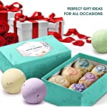 Aprilis-Bath-Bombs-Gift-Set-40-oz-x-6-Organic-and-Natural-Bath-Bomb-Lush-Fizzy-Spa-to-Moisturize-Dry-Skin-Perfect-Handmade-Birthday-Gift-Ideas-for-Women-Best-Friends-Girlfriend-and-Kids