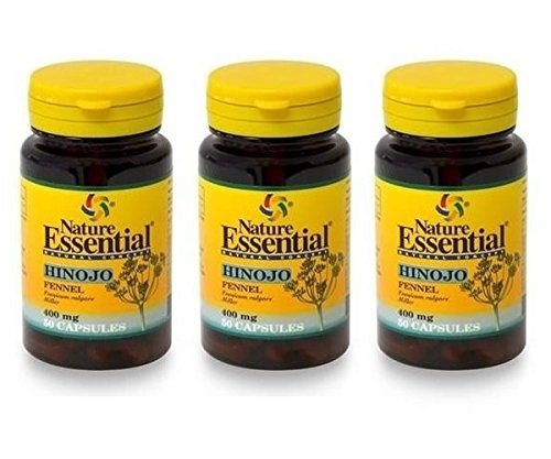 Amazon.es: Nature Essential: Hinojo 400mg. 50 Cápsulas
