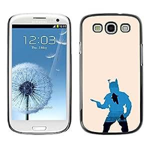 EJOY---Cubierta de la caja de protección la piel dura para el / Samsung Galaxy S3 / --Bobba Fett Hunter