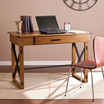 lift top desk. Amazon.com: Southern Enterprises Canton Lift-Top Desk In Brown: Kitchen \u0026 Dining Lift Top