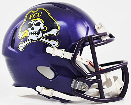 (Riddell NCAA East Carolina Pirates Speed Mini Football Helmet)
