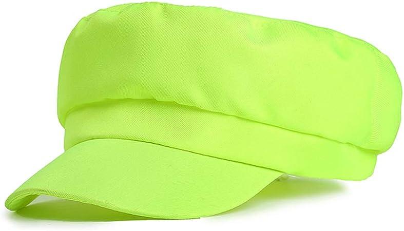 Lightblue - Gorra de Newsboy Cabbie para mujer, color azul As description amarillo: Amazon.es: Hogar
