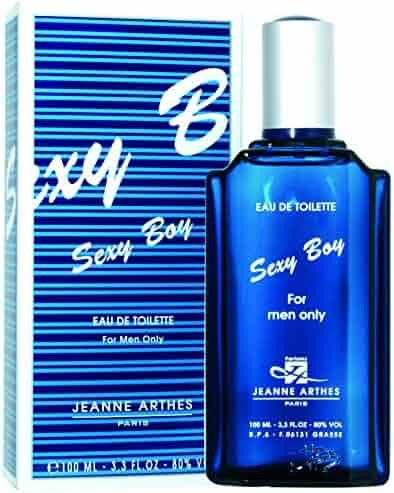 Sexy Boy by Jeanne Arthes Eau De Toilette Spray 3.3 oz