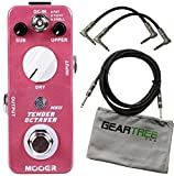 Mooer Tender Octaver MKII Precise Micro Octave Pedal w/ 3 Cables and Cloth