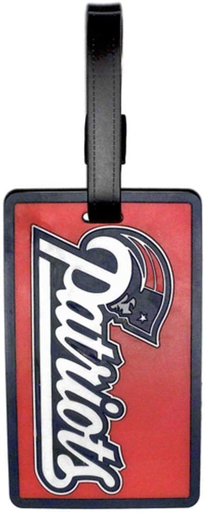 Navy One Size aminco Sox Logo Luggage Tag Red