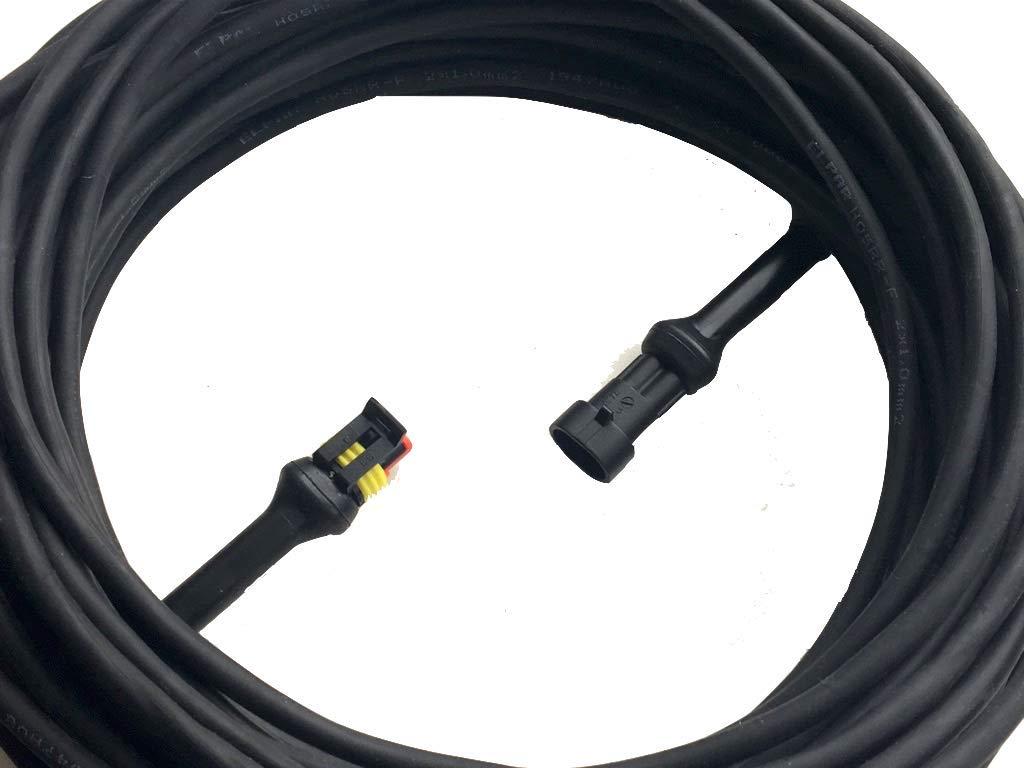 Cavo di corrente elettrica per rasaerba robotizzati 10 metri Trasformatore cavo a bassa tensione per robot tagliaerba: HUSQVARNA AUTOMOWER 220 AC 230 ACX 260 ACX Solar Hybrid