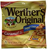 Werther's Original Hard Candy, Caramel Sugar Free, 2.75-Ounce Bags (Pack of 12) For Sale
