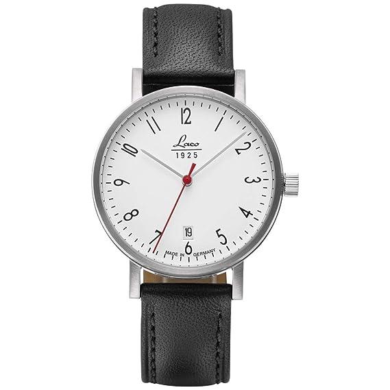 Reloj De Pulsera Classic Halle 38 de Laco – Fabricado en Alemania – 38 mm de
