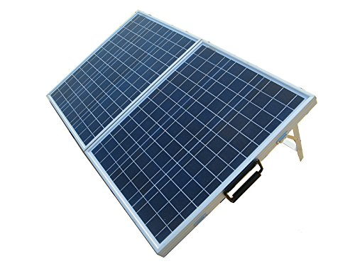 ECO-WORTHY 12 Volts 80 Watts Portable Folding Polycrystalline...