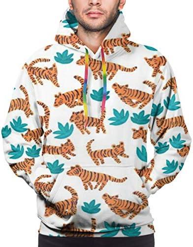 花柄 長袖 パーカー ト軽くて通気性 セーター メンズ 面白 秋 春 カジュアル服