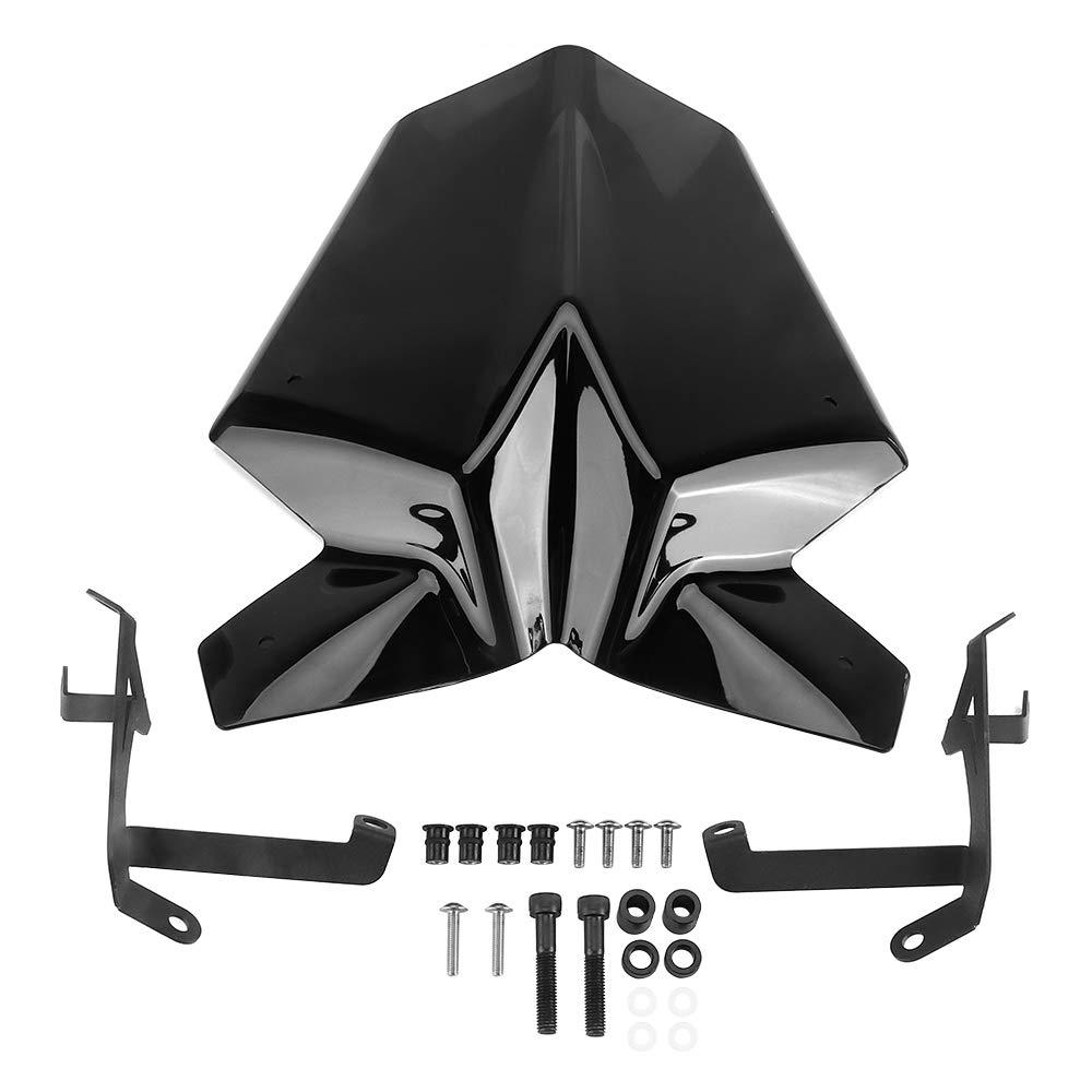KEMIMOTO Fits 2017-2019 KTM Duke 390 125 Windshield Windscreen For Duke Sx RC
