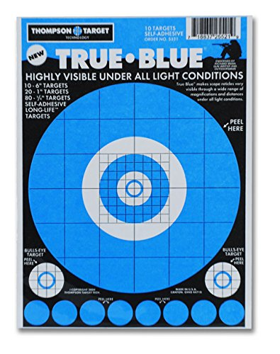 Bright Adhesive Range Shooting Targets