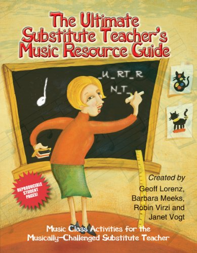 The Ultimate Substitute Teacher's Music Resource - Substitute Music