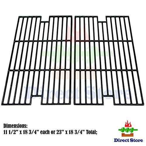 Direct store Parts DC108 Porcelain Cast Iron Cooking grid Replacement Aussie,Brinkmann,Grill Chef, Grill King,Members Mark,Nexgrill,Sams Club Gas Grill