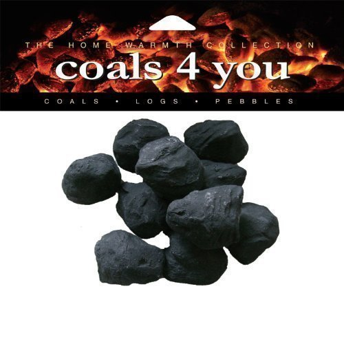 20 Gas Fire Ceramic Small Cast Coals Replacement Replacements/Bio Fuels/Ceramic/Boxed in Branded Coals 4 You packing 279s