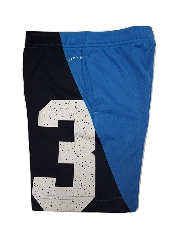 Nike Boys Jordan 23 Speckle Dri-Fit Basketball Shorts Blue//Black Size 6