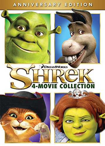Shrek 4-Movie Collection -