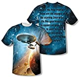 Star Trek - Final Frontier (Front/Back Print) T-Shirt Size XXXL