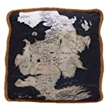 Factory Entertainment Game of Thrones Westeros Map Throw Pillow, North Map