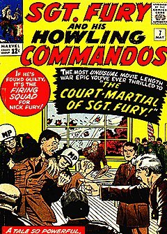 Sgt. Fury and His Howling Commandos (1963 series) #7