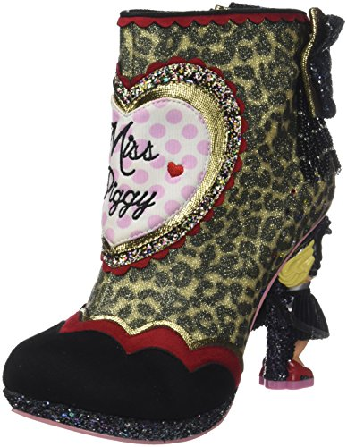 Multicolor Stivaletti cavallino leopard Fierce Multi Irregular Choice nSxgS8IqO
