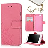 iPhone 6 /iPhone 6S Case -MOLLYCOOCLE® Stand Wallet Purse Card ID Holders Magnetic