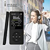 US Fast Shipment Tuscom 2018 Fashion Portable MP3 MP4 Player, LCD Screen for FM Radio Video Games Movie,Casual and Practical (Black)