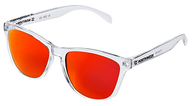 Gafas de sol Northweek ALL Bright white | lente roja polarizada: Amazon.es: Ropa y accesorios