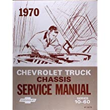 Amazon gm chevy chevrolet truck pickup books 1970 chevy chevrolet truck repair shop service manual with decal fandeluxe Images