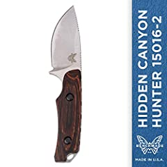 A compact knife for those who are looking to save space, it's truly about as much knife as you'll ever need for processing your harvest thanks to the large applied blade radius that excels at skinning and meat removal. Blade Length: 2.67 inch...