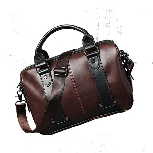 nbsp; Xuanbao Business Men's Tote Fashion Casual Shoulder Retro Bag Travel WaBYfWZ