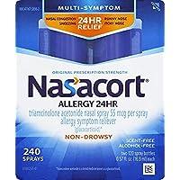 Nasacort Nasal Spray, 240 Total Spray Count